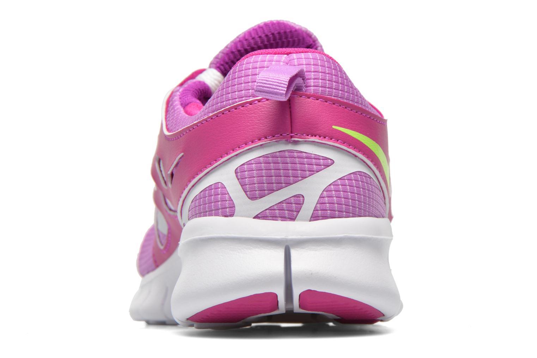 Deportivas Nike NIKE FREE RUN 2 (GS) Violeta      vista lateral derecha
