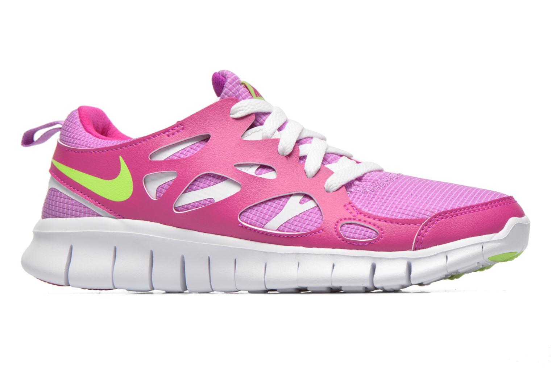 Sneaker Nike NIKE FREE RUN 2 (GS) lila ansicht von hinten