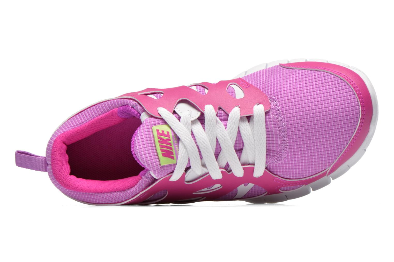 Sneaker Nike NIKE FREE RUN 2 (GS) lila ansicht von links