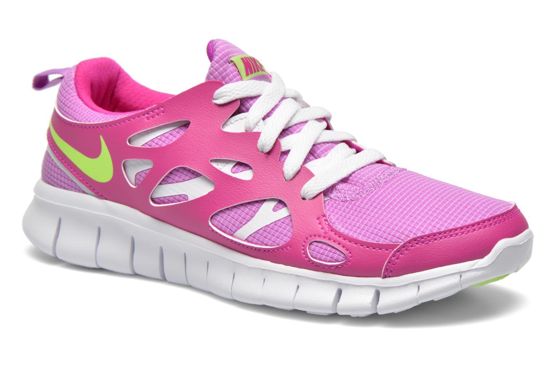 Sneaker Nike NIKE FREE RUN 2 (GS) lila detaillierte ansicht/modell