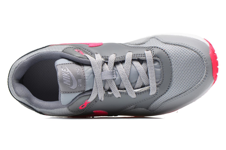 Baskets Nike AIR MAX 1 (PS) Gris vue gauche