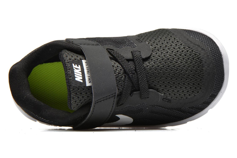 Sneaker Nike Nike Free 5 (Tdv) schwarz ansicht von links