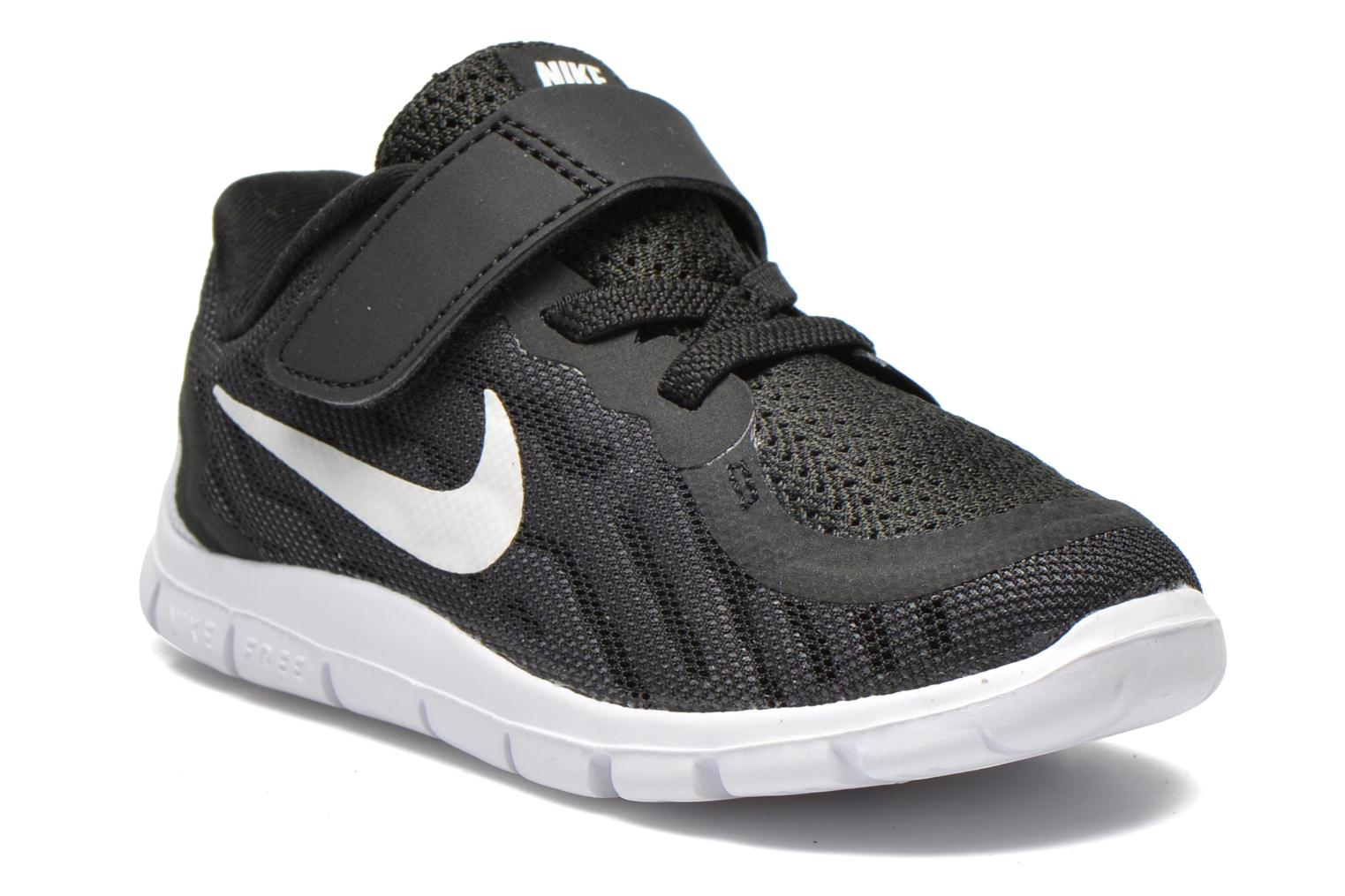 Nike Free 5 (Tdv) BLACK/WHITE-DARK GREY-CL GREY