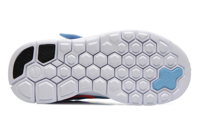 Baskets Nike NIKE FREE 5 (PSV) Bleu vue haut