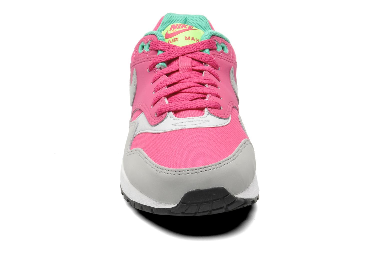 Sneaker Nike AIR MAX 1 (GS) rosa schuhe getragen