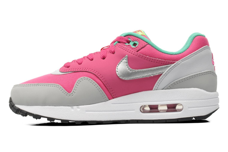 Sneakers Nike AIR MAX 1 (GS) Roze voorkant