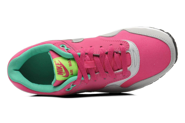 Sneaker Nike AIR MAX 1 (GS) rosa ansicht von links