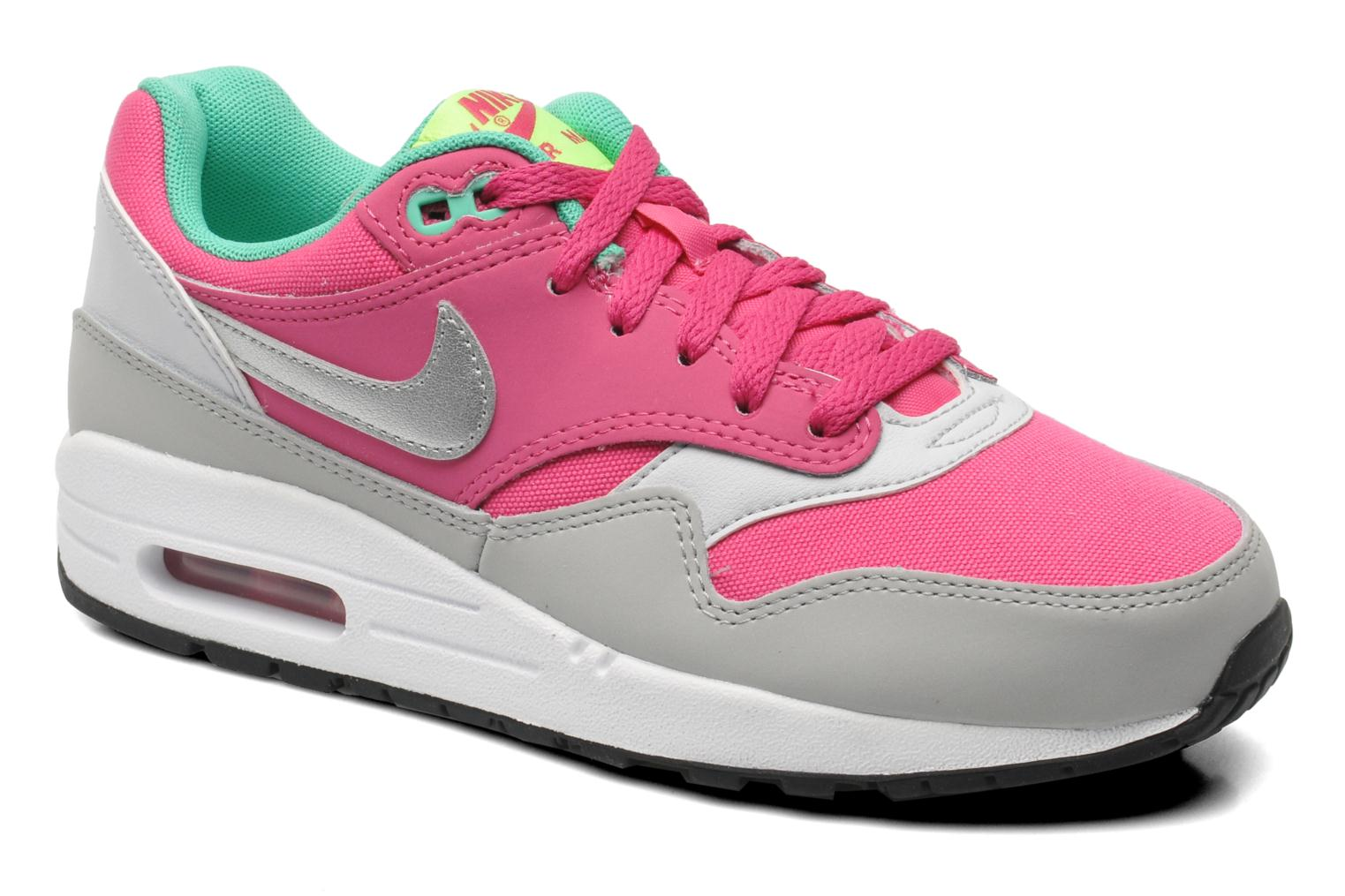 Sneakers Nike AIR MAX 1 (GS) Roze detail