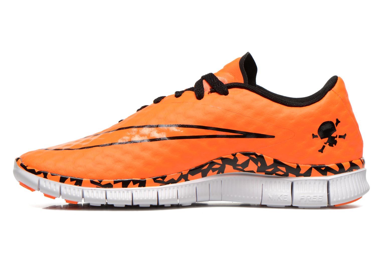 Sneaker Nike NIKE FREE HYPERVENOM (GS) orange ansicht von vorne