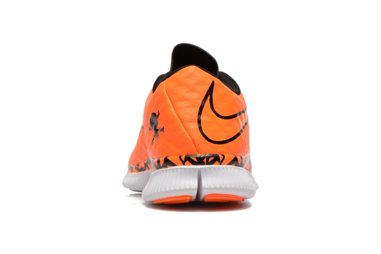 Sneaker Nike NIKE FREE HYPERVENOM (GS) orange ansicht von rechts