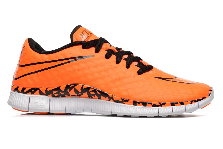 Sneaker Nike NIKE FREE HYPERVENOM (GS) orange ansicht von hinten