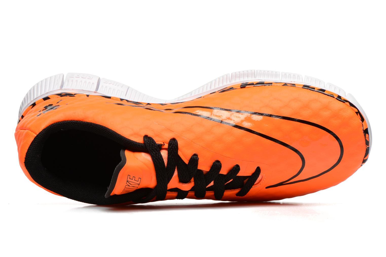 Sneaker Nike NIKE FREE HYPERVENOM (GS) orange ansicht von links