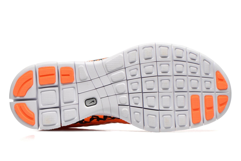 Sneaker Nike NIKE FREE HYPERVENOM (GS) orange ansicht von oben