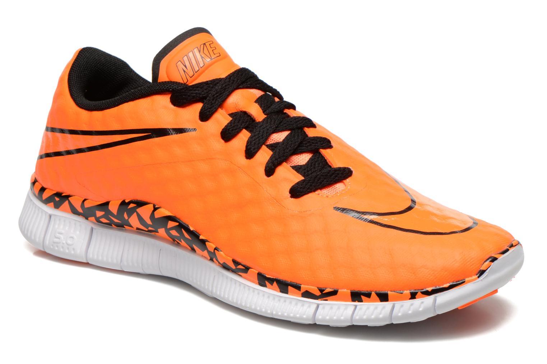Sneaker Nike NIKE FREE HYPERVENOM (GS) orange detaillierte ansicht/modell