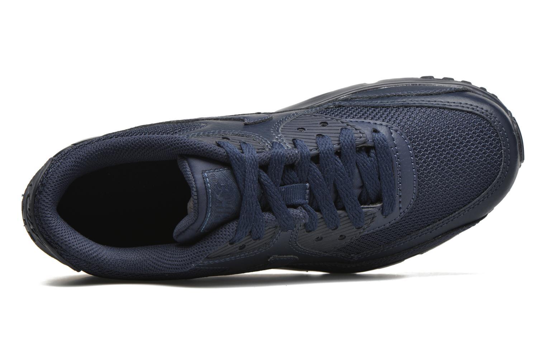 Baskets Nike NIKE AIR MAX 90 MESH (GS) Bleu vue gauche