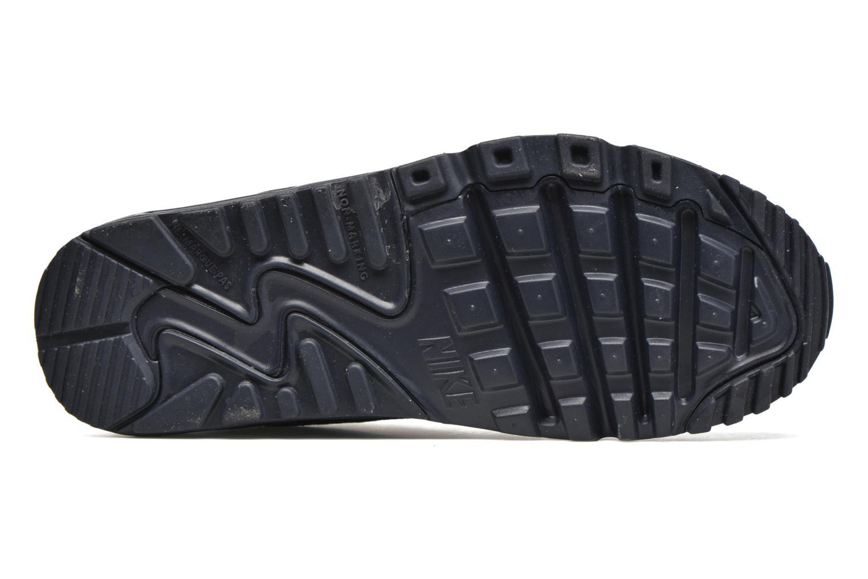 Baskets Nike NIKE AIR MAX 90 MESH (GS) Bleu vue haut