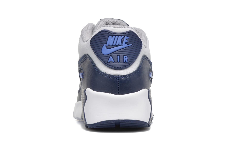 Baskets Nike NIKE AIR MAX 90 MESH (GS) Bleu vue droite