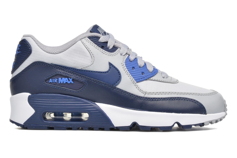 Baskets Nike NIKE AIR MAX 90 MESH (GS) Bleu vue derrière