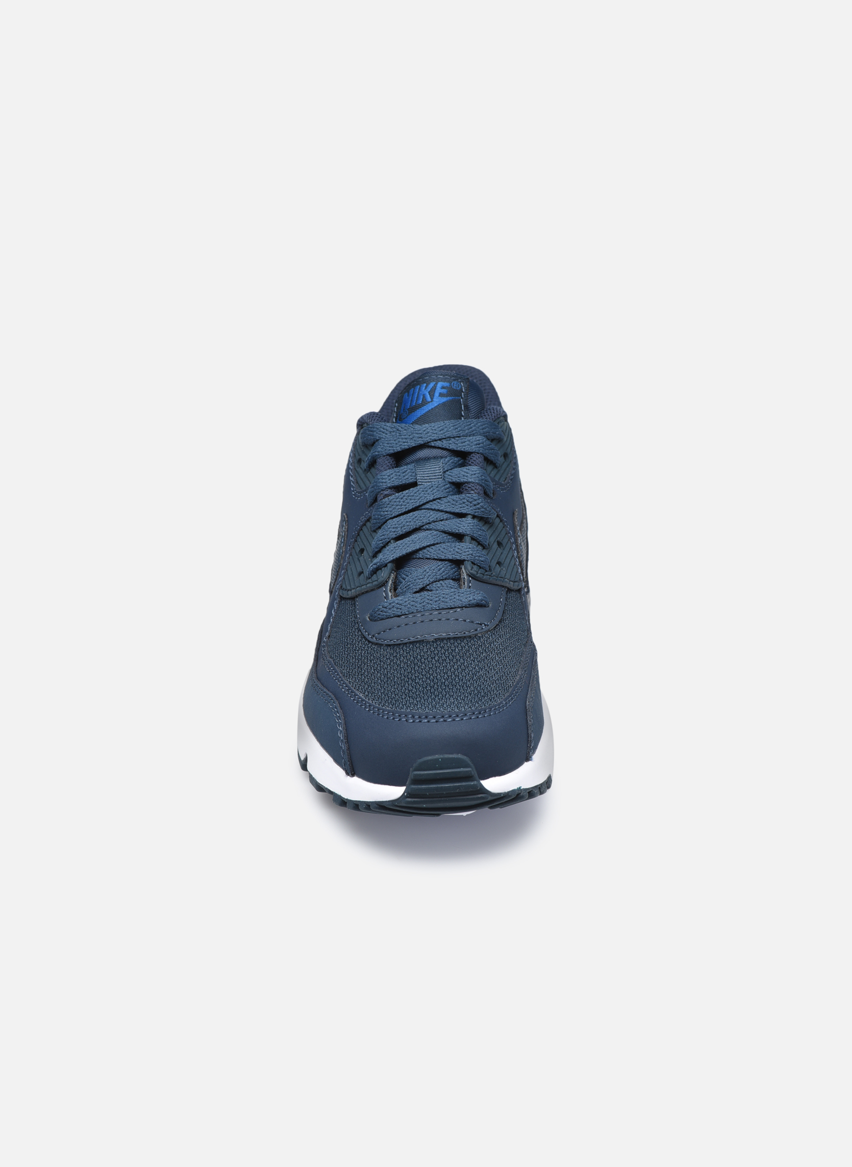 Trainers Nike NIKE AIR MAX 90 MESH (GS) Blue model view
