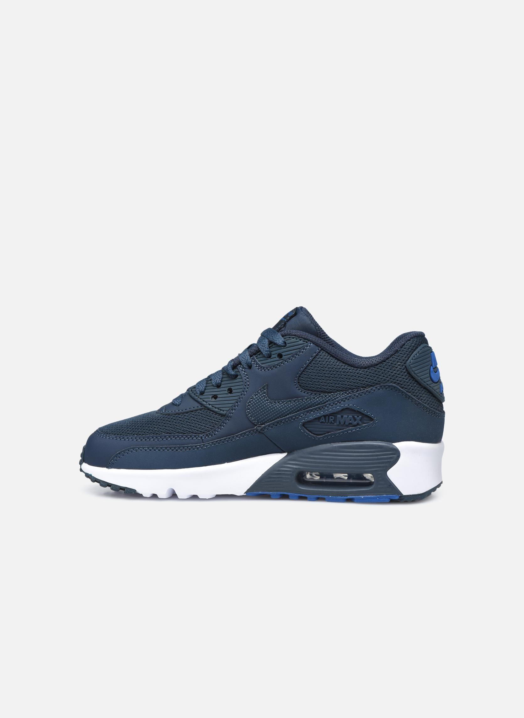 Sneakers Nike NIKE AIR MAX 90 MESH (GS) Azzurro immagine frontale