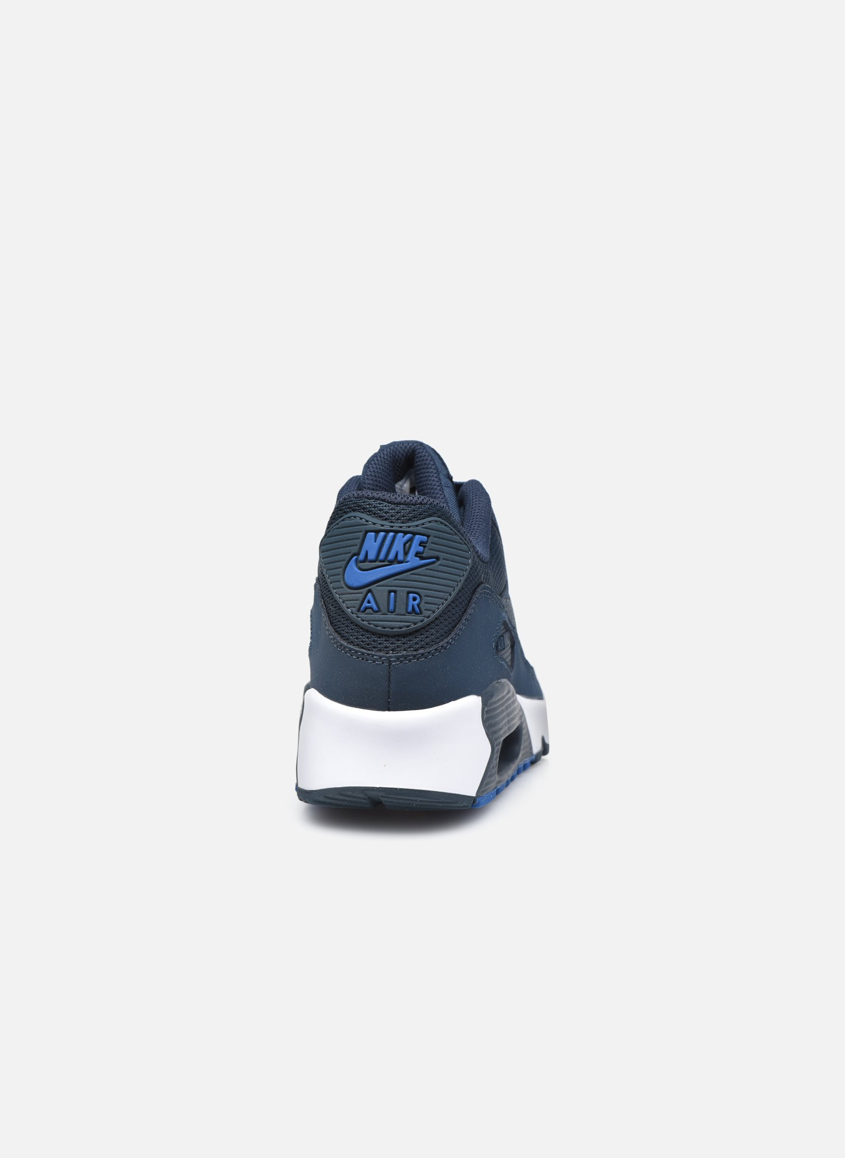 Deportivas Nike NIKE AIR MAX 90 MESH (GS) Azul vista lateral derecha
