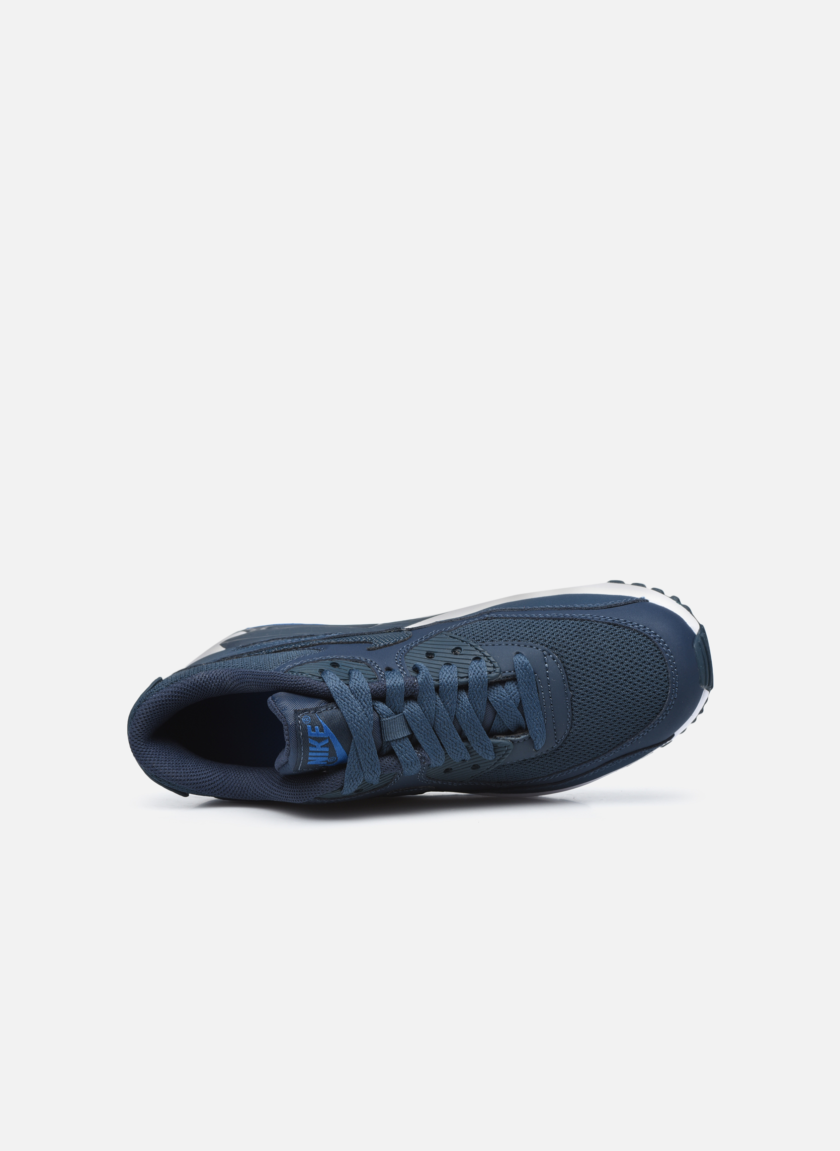 Deportivas Nike NIKE AIR MAX 90 MESH (GS) Azul vista lateral izquierda