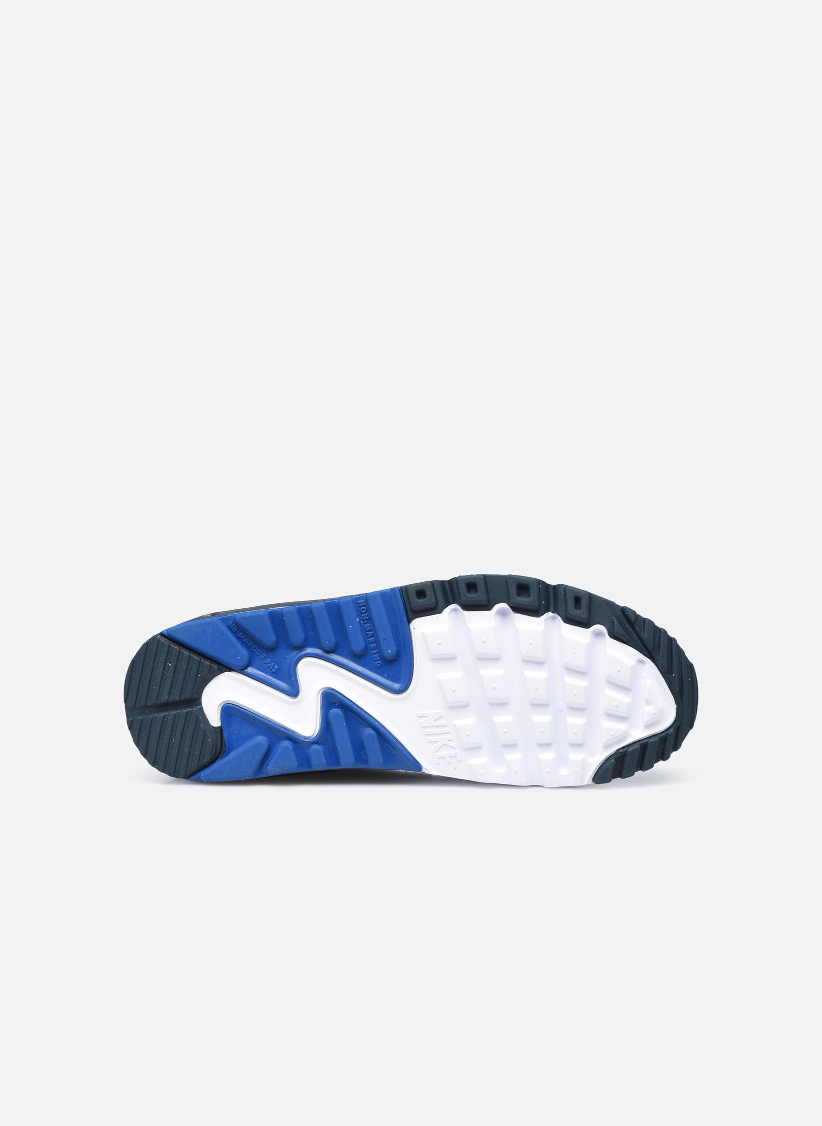 Deportivas Nike NIKE AIR MAX 90 MESH (GS) Azul vista de arriba
