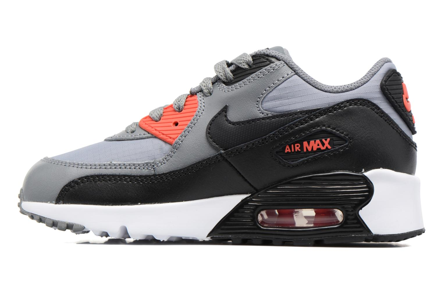 Baskets Nike NIKE AIR MAX 90 MESH (PS) Gris vue face