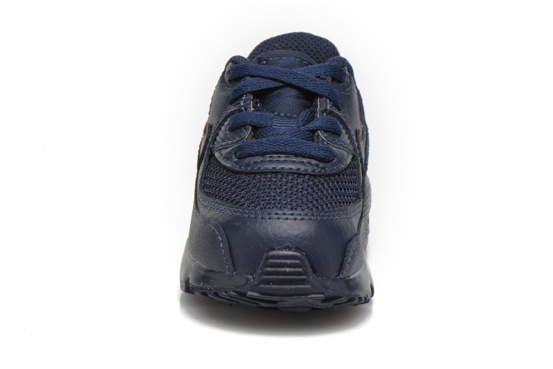 Baskets Nike NIKE AIR MAX 90 MESH (TD) Bleu vue portées chaussures