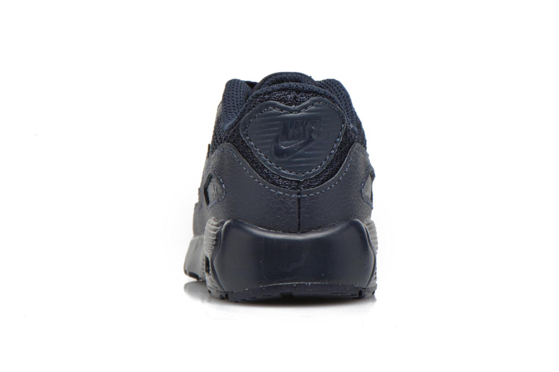 Baskets Nike NIKE AIR MAX 90 MESH (TD) Bleu vue droite