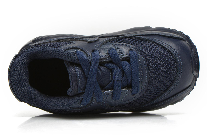 Baskets Nike NIKE AIR MAX 90 MESH (TD) Bleu vue gauche