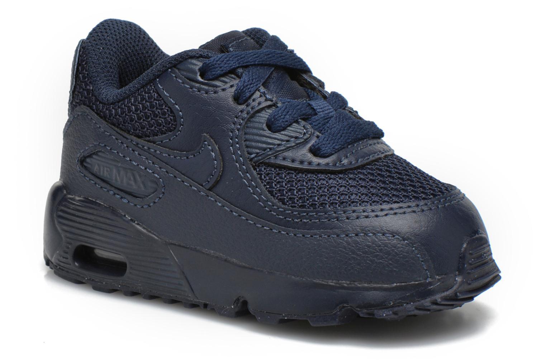 Baskets Nike NIKE AIR MAX 90 MESH (TD) Bleu vue détail/paire