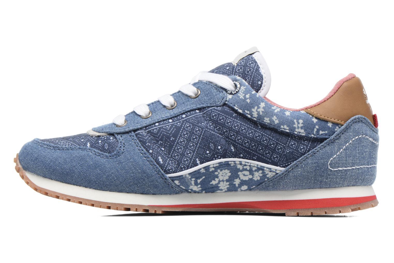 Sneaker Pepe jeans Sydney blau ansicht von vorne