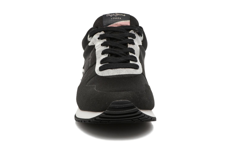 Baskets Pepe jeans Sydney Noir vue portées chaussures
