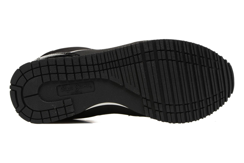 Baskets Pepe jeans Sydney Noir vue haut