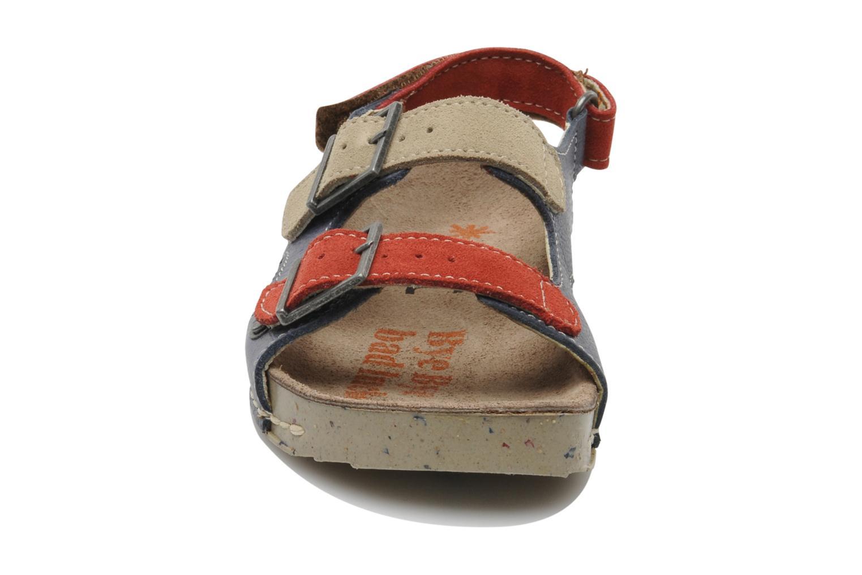 Sandales et nu-pieds Art A429 I Play Bleu vue portées chaussures