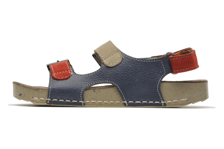 Sandales et nu-pieds Art A429 I Play Bleu vue face