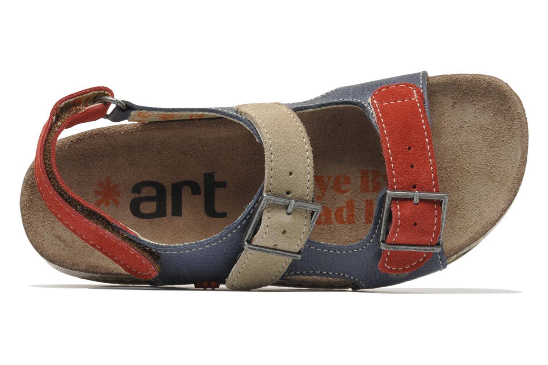 Sandales et nu-pieds Art A429 I Play Bleu vue gauche