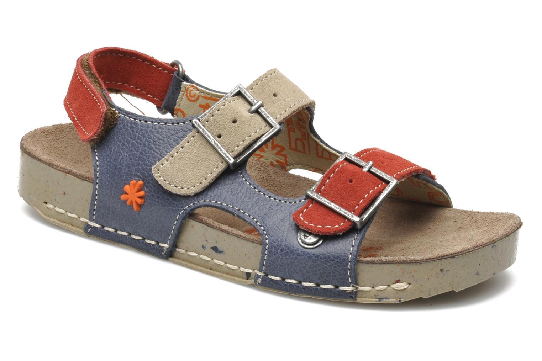 Sandales et nu-pieds Art A429 I Play Bleu vue détail/paire