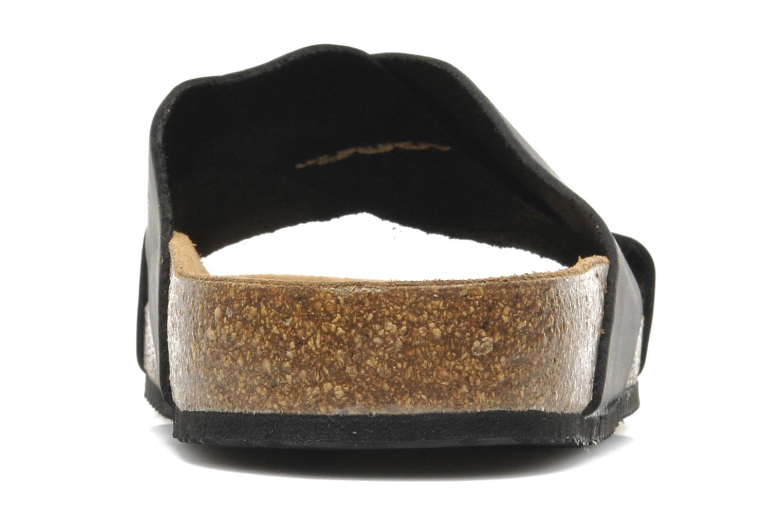 Sandales et nu-pieds Rondinaud Trèfle Noir vue droite