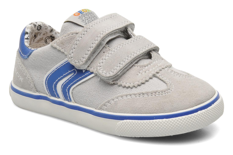 Sneaker Geox B KIWI B. C - SCAM.+TELA grau detaillierte ansicht/modell