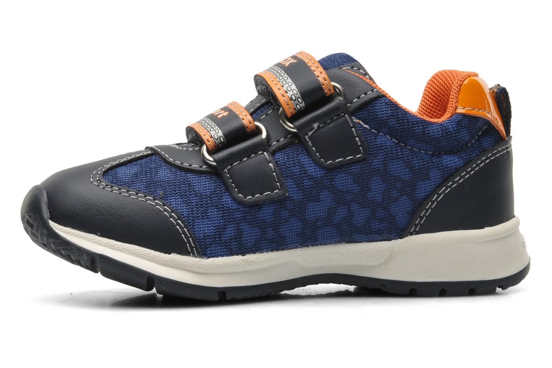 Sneaker Geox B TEPPEI B. C - MESH+DBK blau ansicht von vorne