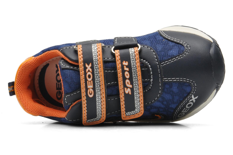 Sneaker Geox B TEPPEI B. C - MESH+DBK blau ansicht von links