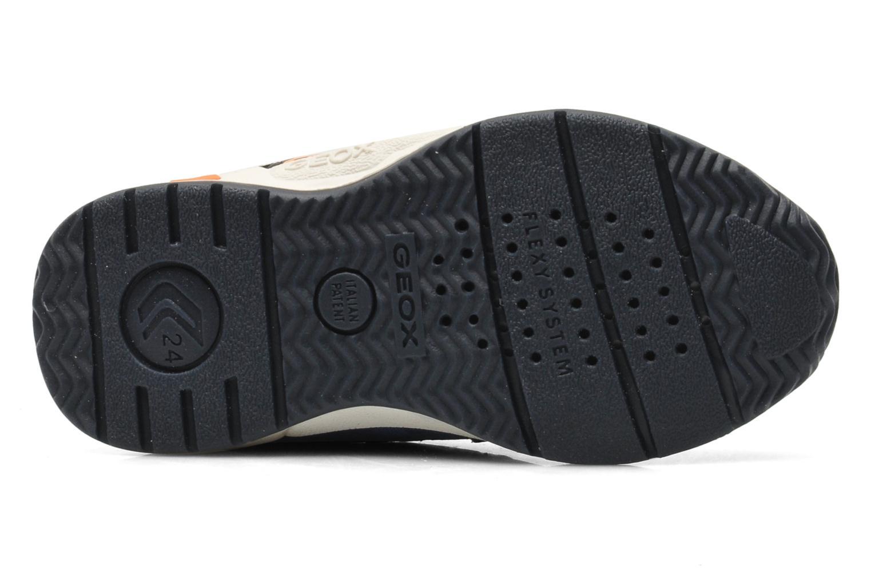 Sneaker Geox B TEPPEI B. C - MESH+DBK blau ansicht von oben