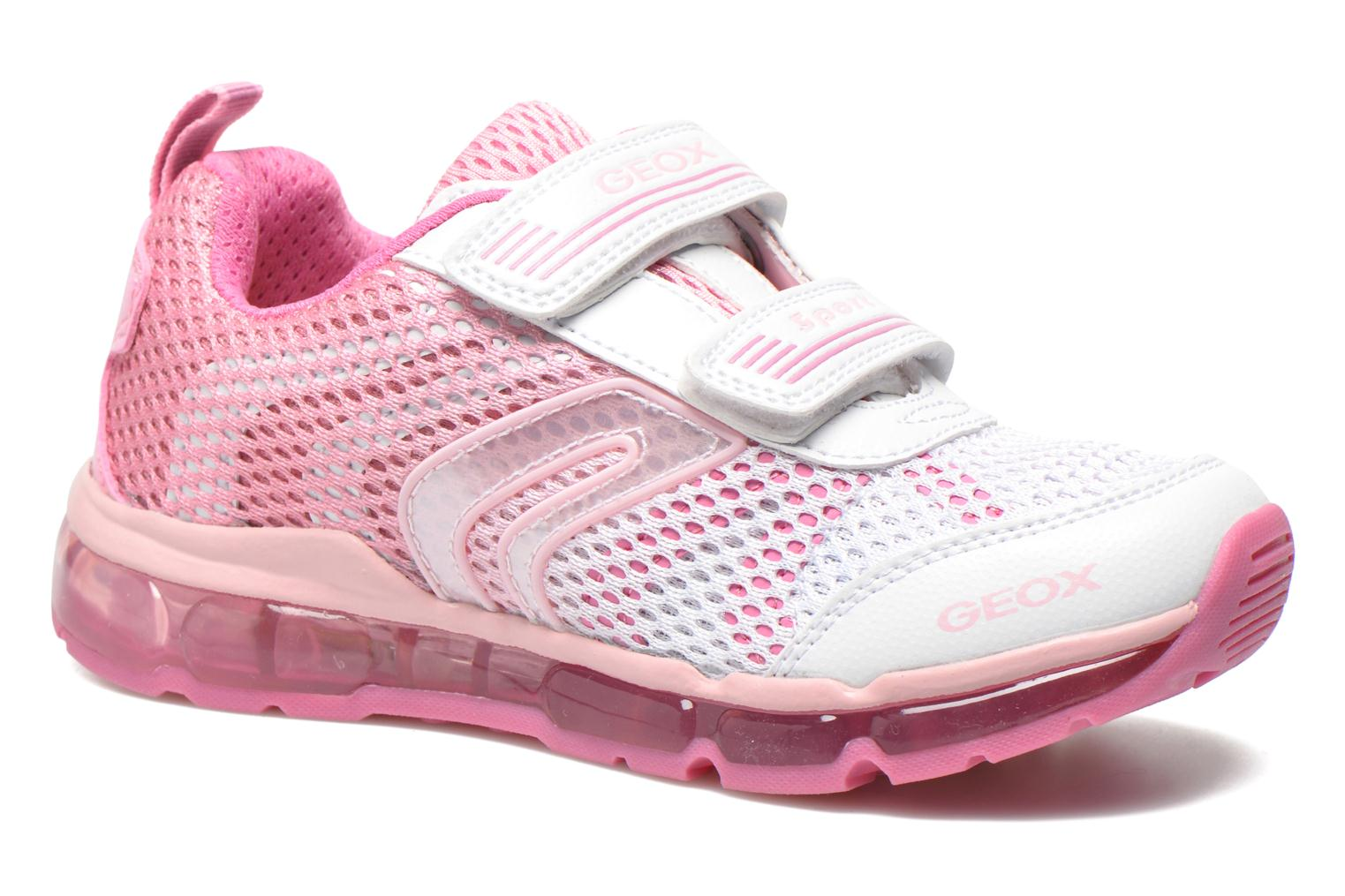 Sneaker Geox J Android G. A J5245A rosa detaillierte ansicht/modell