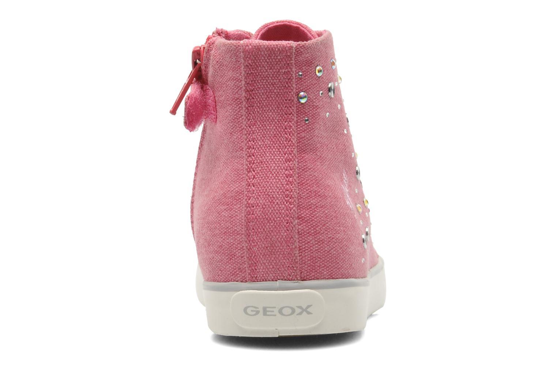 Sneakers Geox J CIAK G. G - TELA Roze rechts