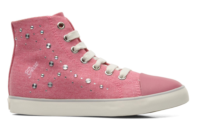 Sneakers Geox J CIAK G. G - TELA Roze achterkant
