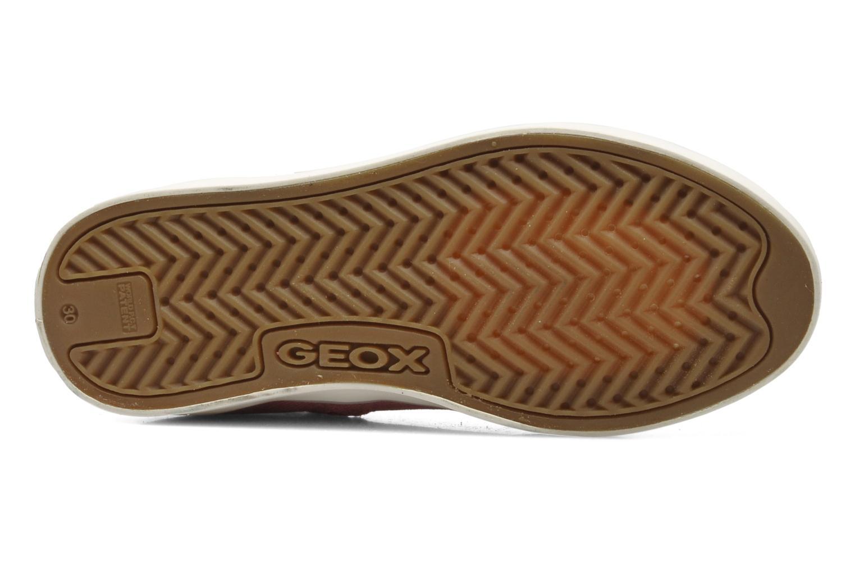 Sneakers Geox J CIAK G. G - TELA Roze boven