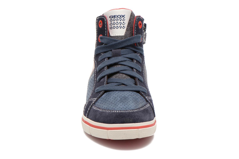 Sneaker Geox J Kiwi B. D J52A7D blau schuhe getragen