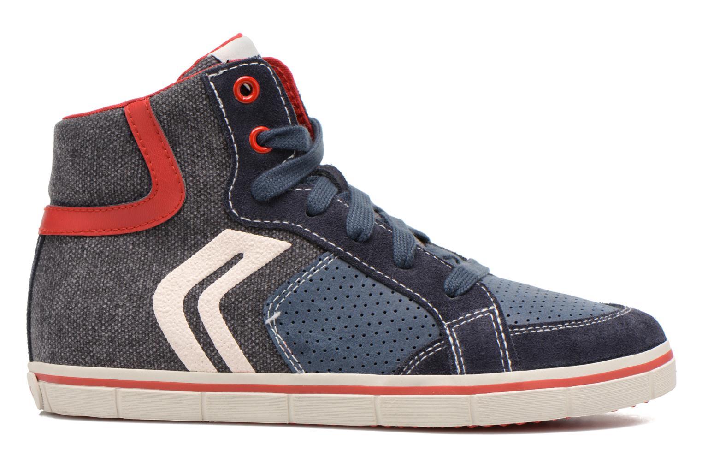 Sneaker Geox J Kiwi B. D J52A7D blau ansicht von hinten